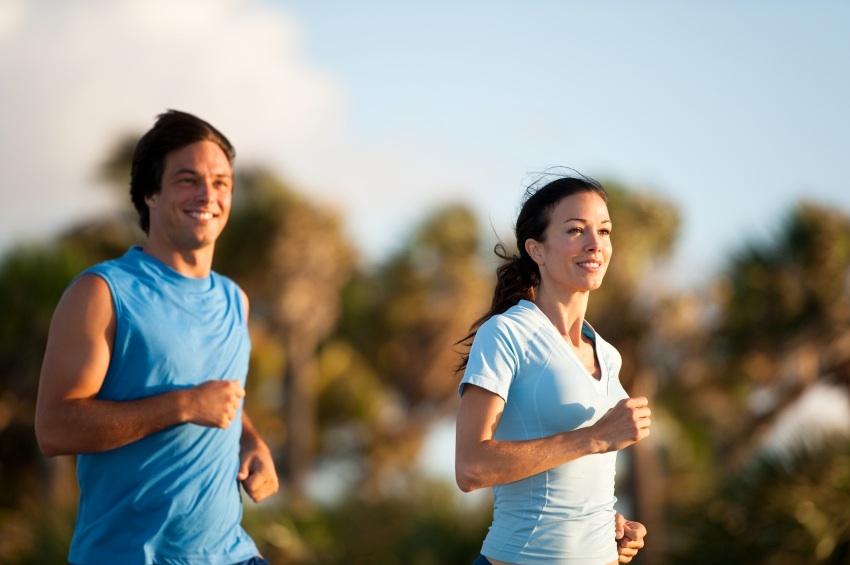 tập thể dục, ăn uống lành mạnh