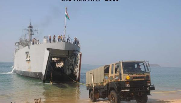 Ấn Độ điều tàu tác chiến đổ bộ đến Biển Đông