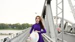 Chùm ảnh: Thiếu nữ xứ Huế 'đốn tim' trong tà áo dài