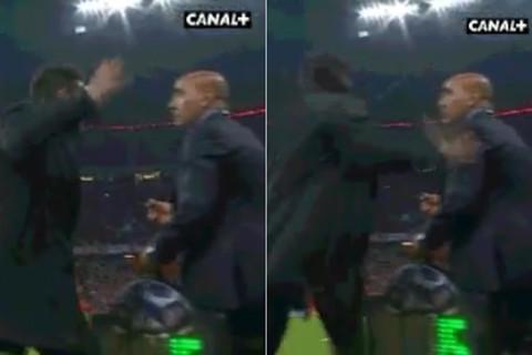 Simeone tát trọng tài, cãi nhau tay đôi với Pep 2