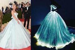 Choáng ngợp trước váy phát sáng đỉnh cao của 'Lọ Lem'