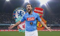 Conte rước Higuain về Chelsea, Mourinho cay mũi
