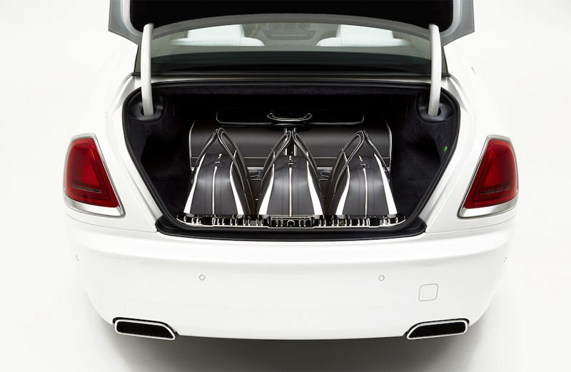 Bộ vali siêu sang 1,1 tỷ đồng của Rolls-Royce