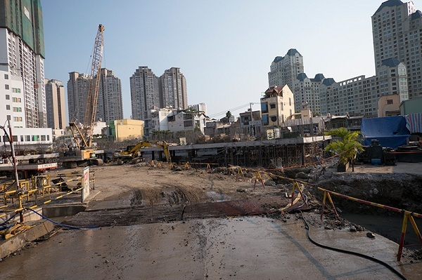 Địa ốc Sài Gòn ngập trong các siêu dự án