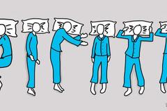 Bí mật tính cách giấu trong tư thế ngủ