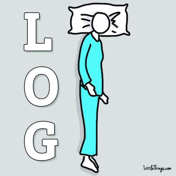 tư thế ngủ, tính cách, đoán tính cách