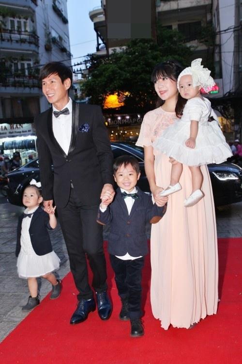 Vợ Lý Hải: 'Hy vọng sẽ sinh con trai thứ 4'