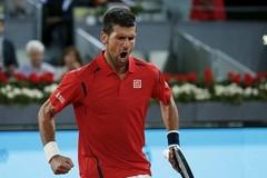 Hạ 'cây sào' Raonic, Djokovic vào bán kết Madrid Open