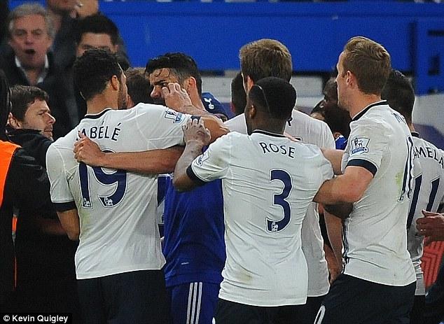 Móc mắt Diego Costa, sao Tottenham nhận án phạt cực nặng