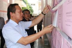 Bộ trưởng TT&TT kiểm tra công tác bầu cử tại Hà Giang