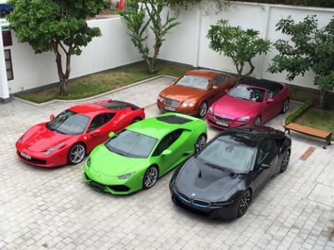 Đại gia Việt sắm siêu xe như mua... đồ chơi