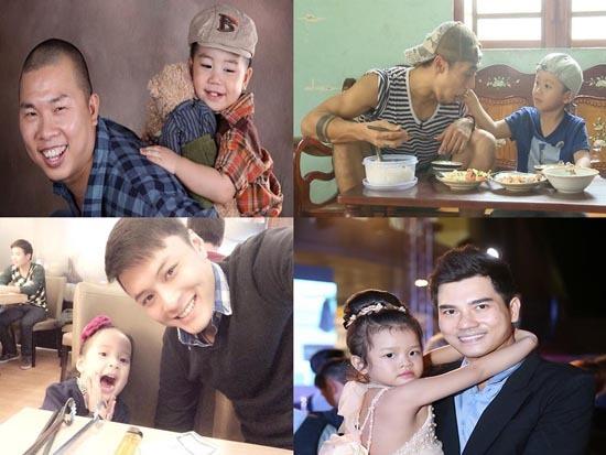 Tâm sự của 4 ông bố nổi tiếng showbiz về con cái