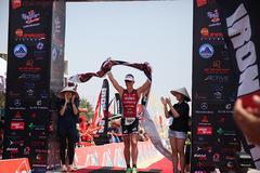 Caroline Steffen bảo vệ thành công ngôi vô địch Ironman 70.3