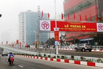 Phát hiện sai phạm xây dựng cầu vượt ở Hà Nội