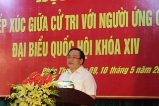 Bí thư Hà Nội cam kết không để người nhà lạm quyền