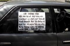 Hình phạt cho những chiếc xe đậu vô duyên