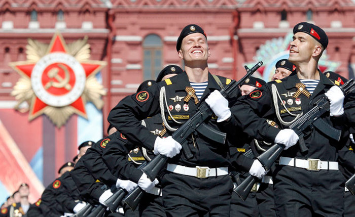Nga diễu binh hoành tráng mừng ngày Chiến thắng