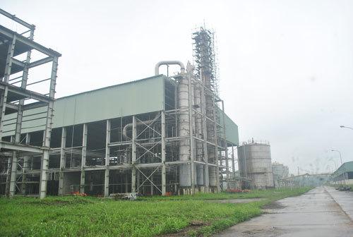 ethanol, nhiên liệu sinh học, xăng e5, dầu khí, bỏ hoang, phá sản, lãng phí, phú thọ,