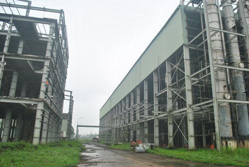 Nhà máy 2.400 tỷ ở Phú Thọ 'chết yểu'