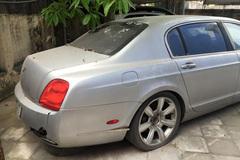 Siêu xe Bentley bỏ quên ở Hà Nội