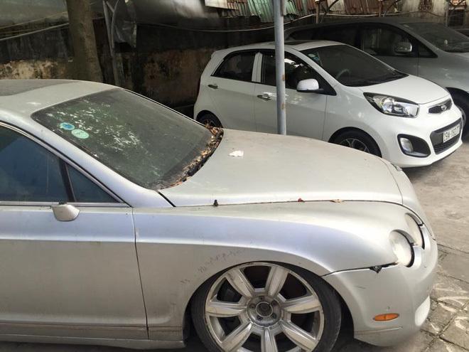 Siêu xe, Bentley, bỏ quên, ô tô, xe sang, xe hơi, mua xe,  Hà Nội, nội thất, bỏ rơi