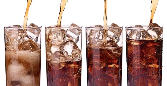 nước ngọt có ga, trà xanh, nước đun sôi, đồ uống