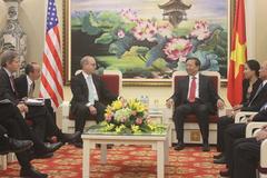Bộ trưởng Công an tiếp 2 trợ lý Ngoại trưởng Mỹ