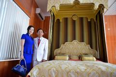Giường 6 tỷ, vợ kém 50 tuổi của đại gia Lê Ân