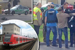 Chém giết điên cuồng tại nhà ga Đức