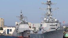 Mỹ điều tàu chiến vào vùng 12 hải lý đá Chữ Thập