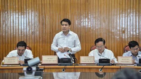 Chủ tịch UBND TP Hà Nội, Nguyễn Đức Chung, vệ sinh ATTP, cắt tỉa cây xanh, vệ sinh môi trường