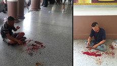 Bom nổ ở trung tâm Bangkok