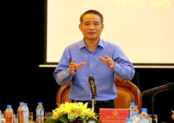 Bộ trưởng GTVT Trương Quang Nghĩa, phí sử dụng đường bộ