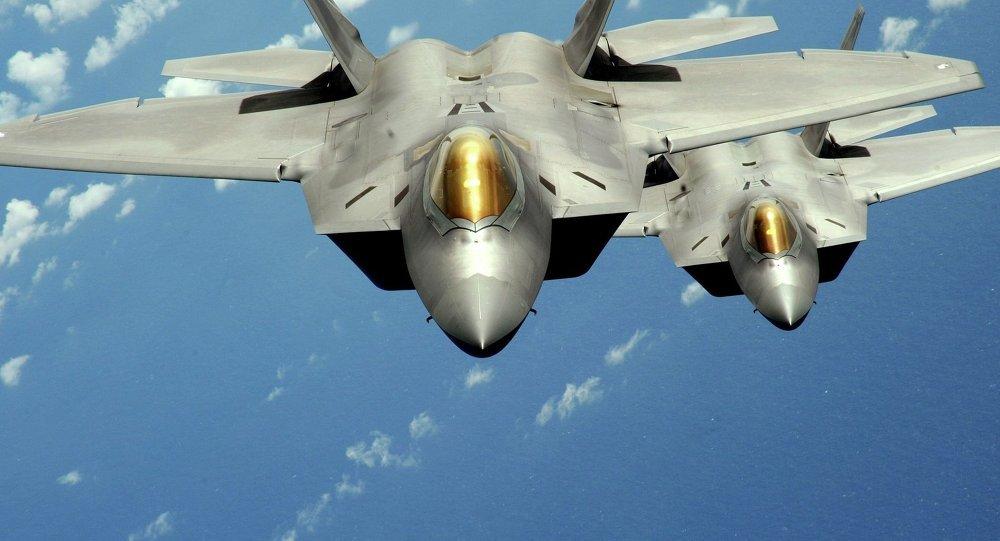F-22, chiến cơ, tàng hình, siêu việt, biển Đông, Hàn Quốc, Triều Tiên, trừng phạt, đánh bom, bom xe, IS, phiến quân, Nhà nước Hồi giáo