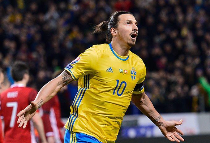 Ibrahimovic lĩnh xướng hàng công Thụy Điển dự EURO 2016