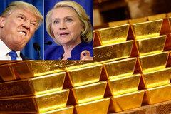 Sự thăng trầm của Donald Trump quyết định giá vàng