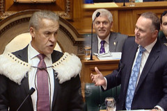 Thủ tướng New Zealand bị 'đuổi' khỏi cuộc họp quốc hội