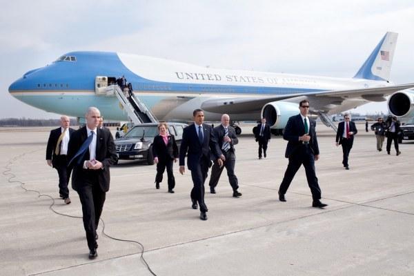 Tổng thống Mỹ, Barack Obama, công du, an ninh, mật vụ, Không lực Một,