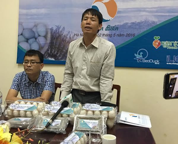 Đoàn Văn Vươn kể chuyện nuôi vịt biển sạch