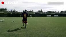 Trải nghiệm 1 ngày luyện tập của các ngôi sao Barca