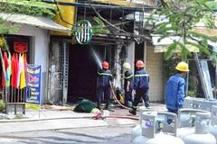 Bị truy bắt, thanh niên ngáo đá đốt cửa hàng gas tự sát