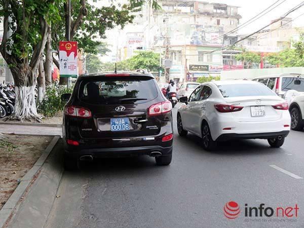 Xe ô tô của Chủ tịch Đà Nẵng vi phạm luật giao thông
