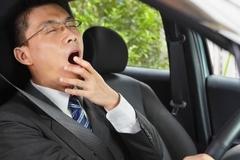 Kinh nghiệm chống ngủ gật sau vô lăng
