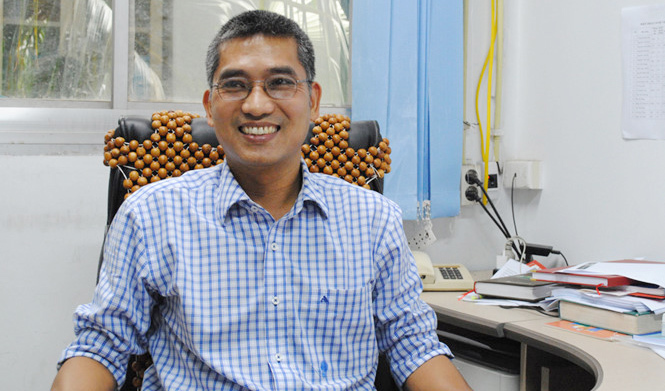 GS Nguyễn Văn Hiếu, một trong 3 nhà khoa học đoạt giải Tạ Quang Bửu 2016 là GS trẻ tuổi nhất Việt Nam năm 2015