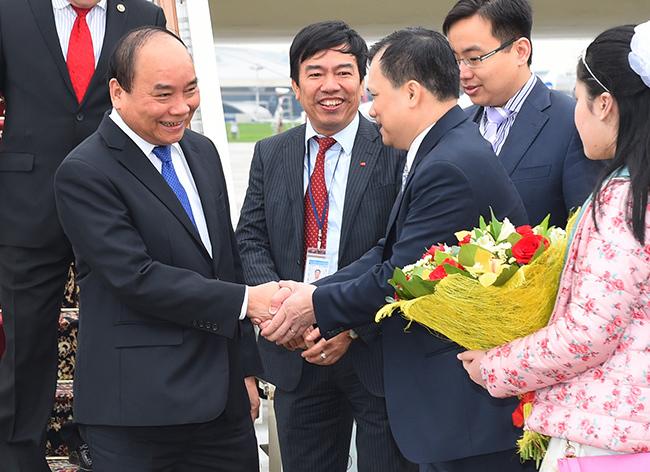 Thủ tướng Nguyễn Xuân Phúc, liên bang Nga