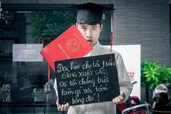 Bộ ảnh 'Trước khi tốt nghiệp...' bóc mẽ sinh viên Việt