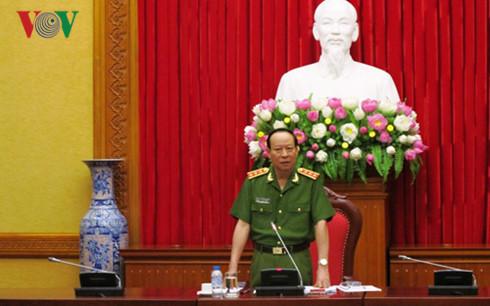 Bộ Công an họp Ban chỉ đạo bảo vệ bầu cử