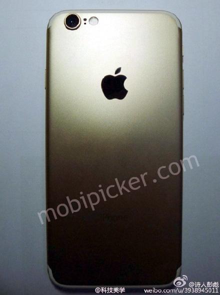 iPhone 7 lộ ảnh với dải ăng ten và camera mới