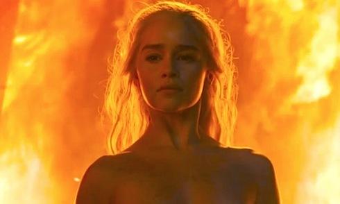 Cảnh nóng, khỏa thân, Trò chơi vương quyền, phim 18+, Game of Thrones, Emilia Clarke