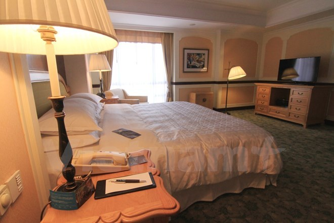 Bên trong phòng tổng thống của 5 khách sạn sang nhất HN - Ảnh 12.